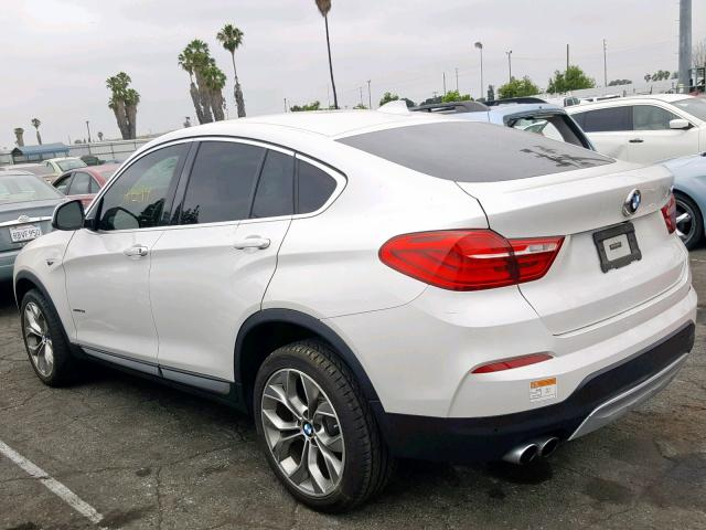 BMW X4 XDRIVE28I Rear