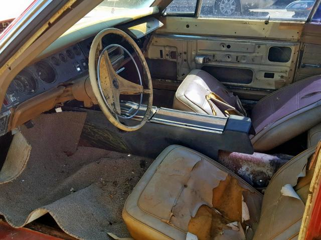 Dodge Charger 1969 6.3 Interior