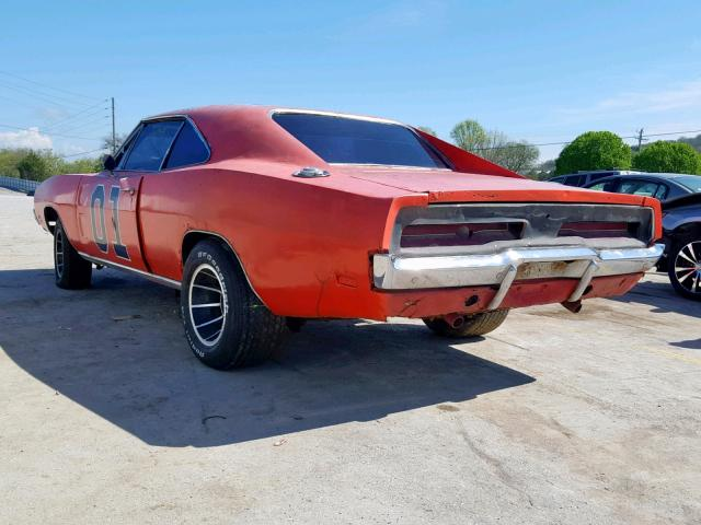 Dodge Charger 1969 6.3 Rear End
