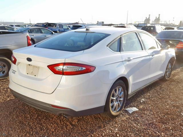 Ford Fusion S 2015 2.5 Rear