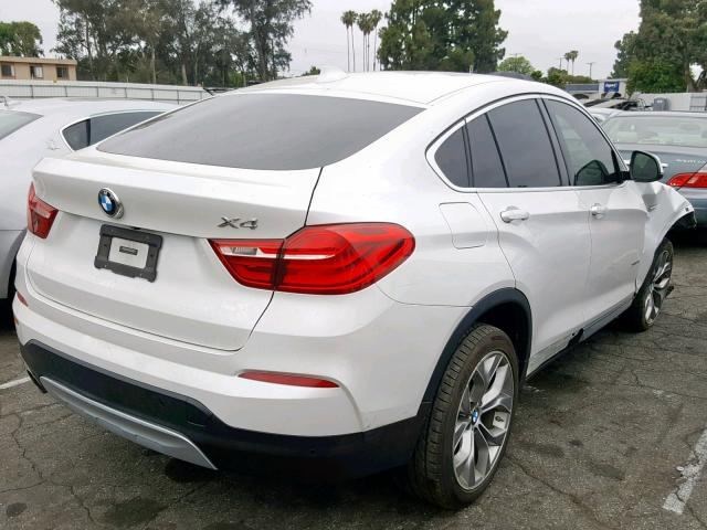 BMW X4 XDRIVE28I Rear End