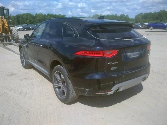 Jaguar F-PACE S 2017 Rear