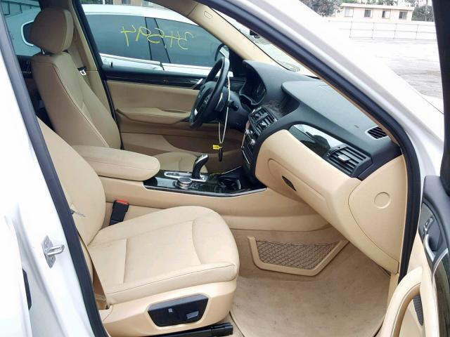 BMW X4 XDRIVE28I Interior
