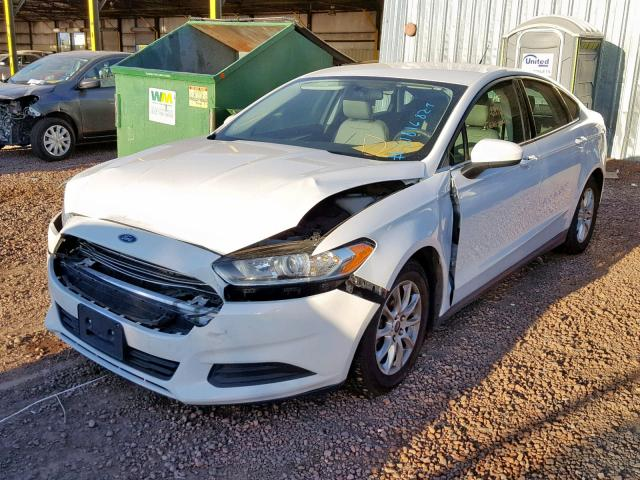 Ford Fusion S 2015 2.5 Front