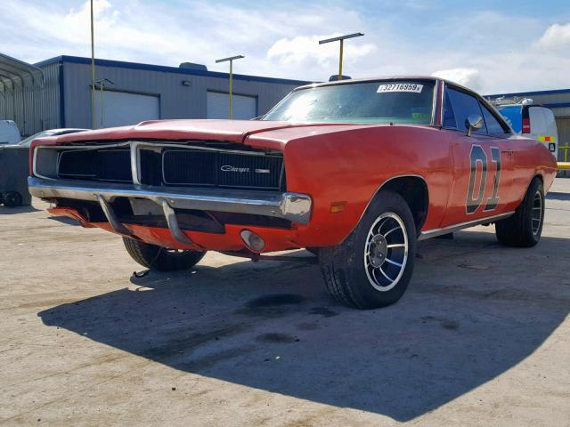 Dodge Charger 1969 6.3 Front