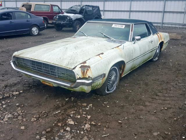 Ford Thunderbird 1968 Landau 7.0 Front End