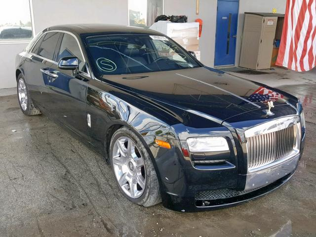 Rolls-Royce Ghost 2013 6.6 Front End