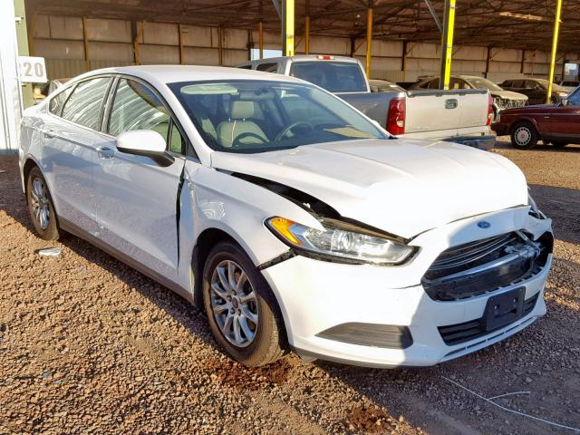Ford Fusion S 2015 2.5 Front End