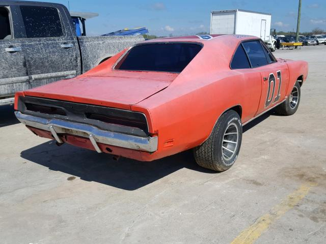 Dodge Charger 1969 6.3 Rear
